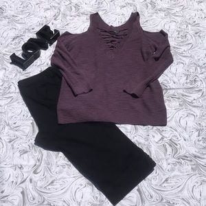 Express Cold Shoulder Shirt
